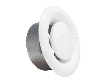 Anemostat metalowy wywiewny Ø160