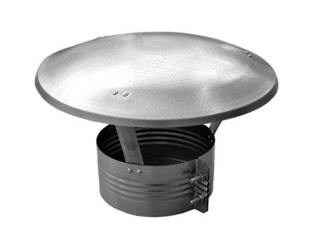 Daszek wywietrznikowy ocynkowany Ø150